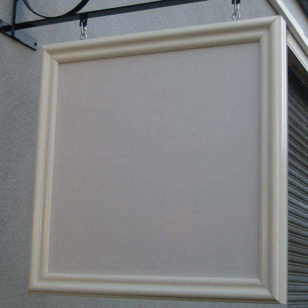 600 X 600 FOAMBOARD PANEL WITH FRAME