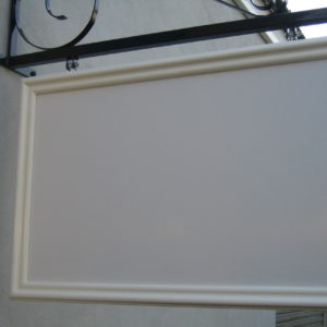 900 x 600 FOAMBOARD PANEL WITH FRAME